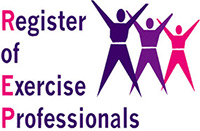 REPS logo - an independent, public register which recognises the qualifications and expertise of health-enhancing exercise professionals in the UK