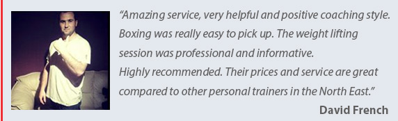 Testimonial 4 for Tony Tones Personal Training - mobile personal trainer in the Cramlington Northumberland & North Tyneside Area