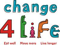 Change 4 Life logo - eat well, move more, live longer